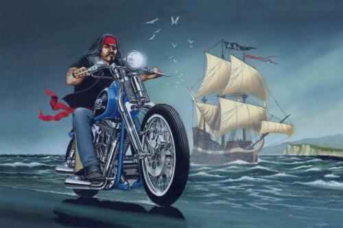 271672 David Mann Ghost Rider PRINT GLOSSY POSTER US