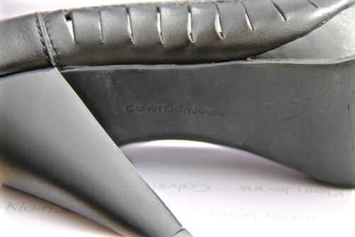 190 New nera 8 Klein € in Misura Calvin Val 39 Pompe Box In pelle chiuse 4qLj35AR