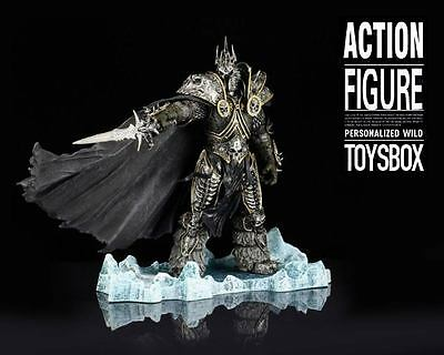 "Arthas Menethil World of Warcraft Action Figure 9 inch 9"" 1/7 21cm LOTS"