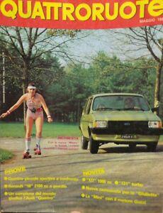 QUATTRORUOTE-MAGGIO-1981
