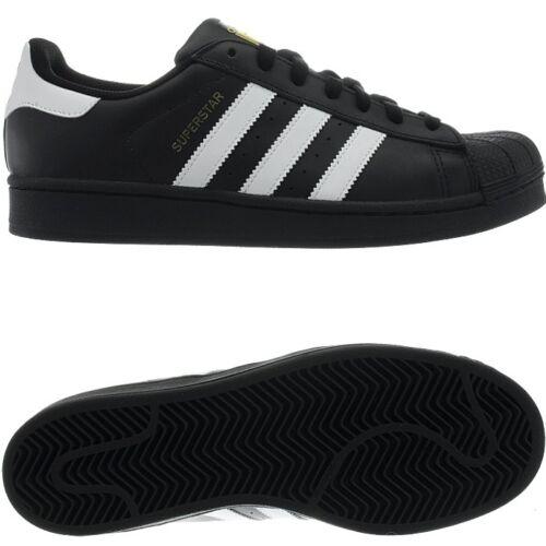 Sneaker Superstar bianco in Novità pelle Adidas e nero Cult da uomo in 5T5tawzq