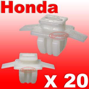 Honda-civic-cr-v-crv-front-wheel-arch-trim-clips-surround-exterieur-front-wing-20
