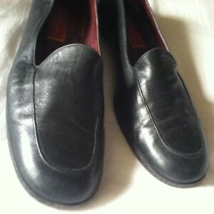 cole haan leather loafers driver shoes flats 11 aa narrow
