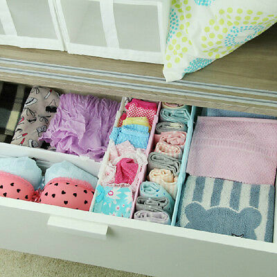 Retractable Expandable Drawer Divider Storage Organiser Kitchen Wardrobe 4Colors