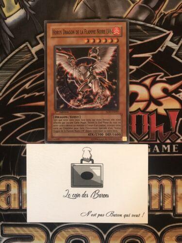 Yu-gi-oh horus the black flame lv6 sod-fr007 super rare 1st