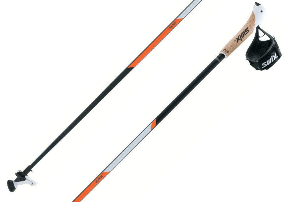 Swix ct3 Arancio autobon Nordic Walre Bastoni clic passante Twist & Go punta 2018