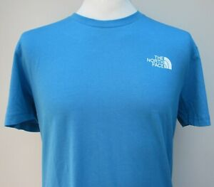 TNF-Mens-The-North-Face-Short-Sleeve-Simple-Dome-Tee-T-Shirt-Blue-White-S-M-L