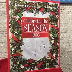 Celebrate-the-Season-2006-by-Vicki-Christian-Printed-HC-Illustrated-Free-Ship