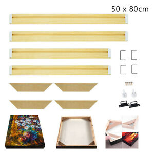 Professional Wooden Canvas Frame Kit For Oil Painting Wall Art
