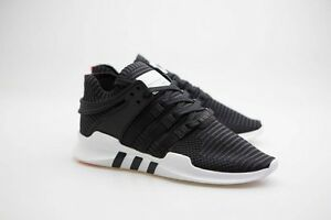 0 adidas men eqt support adv primeknit black  core black  turbo red BB1260
