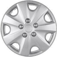 1pc Hub Cap Abs Silver 15 Inch Rim Wheel Skin Replica Cover