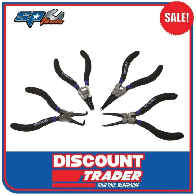 SP Tools 4 Piece Circlip Plier Set - 175mm - SP32932
