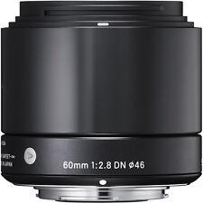 Sigma 60mm f/2.8 ART DN Lens Micro Four Thirds M4/3 Black Olympus Panasonic
