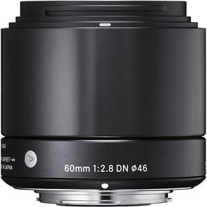 Sigma-60mm-f-2-8-DN-Lens-for-Sony-E-mount-A6000-A6300-4-YEAR-WARRANTY-BUFF-BACK