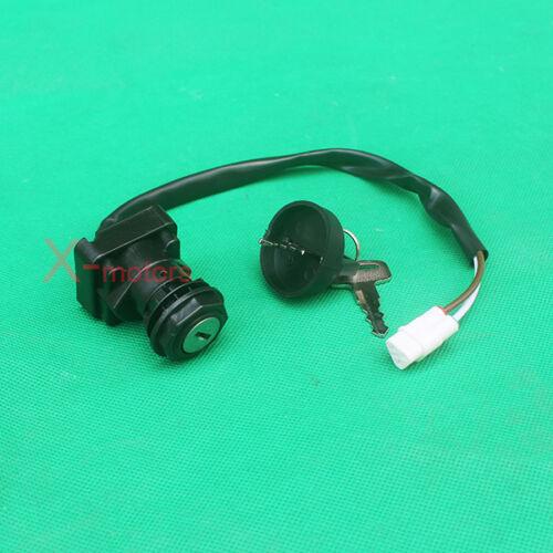 New Ignition Key Switch For KAWASAKi KVF400 Prairie 400 KFX450R KSF450B ATV Quad