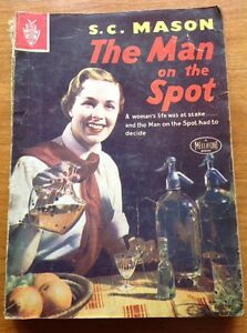 THE-MAN-ON-THE-SPOT-by-S-C-Mason-Mellifont-Press-vintage-crime-pb