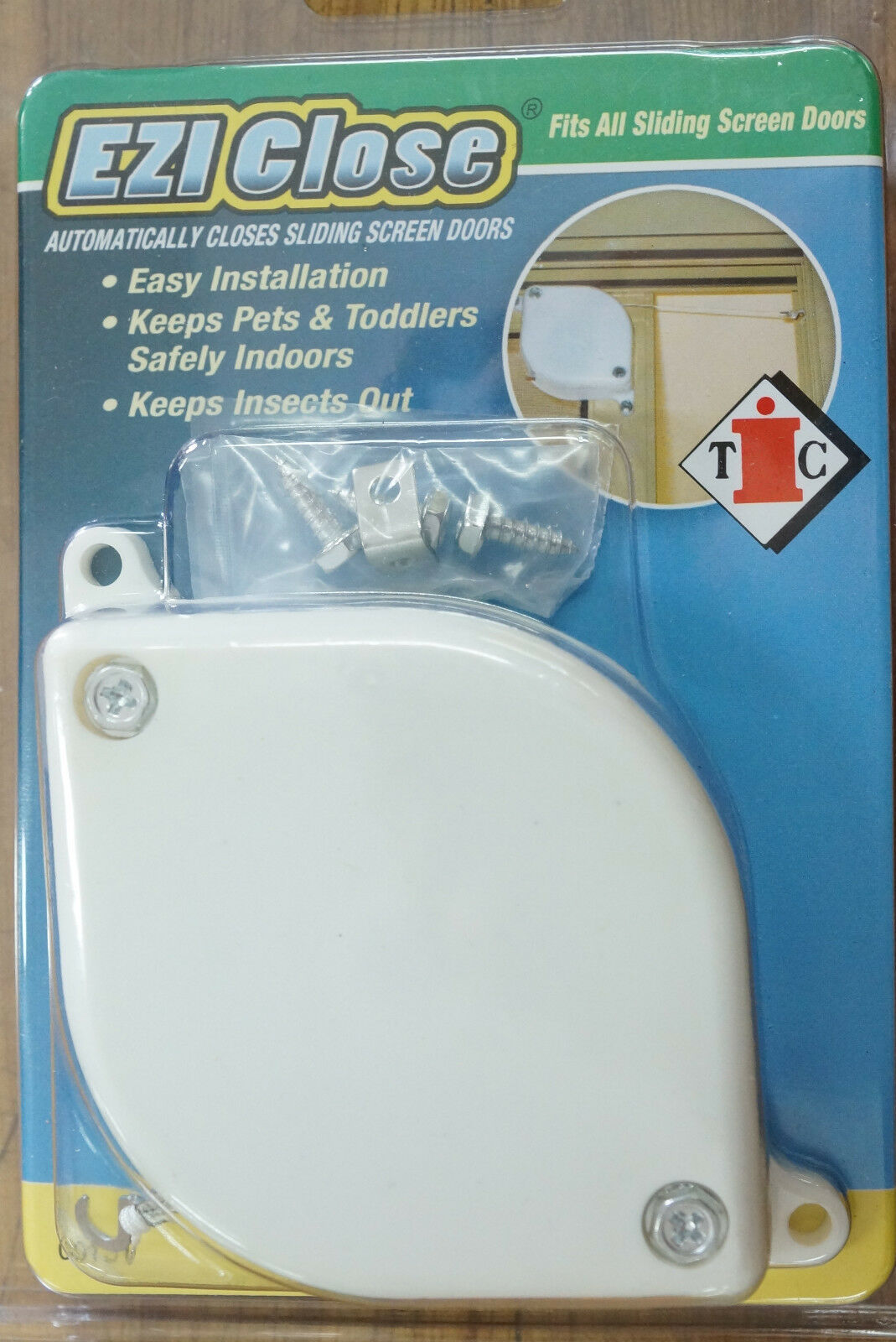 Ezi Close Compact Sliding Screen Door Closer Ebay