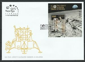 Hungary-2019-Space-Apollo-11-50th-Anniversary-Moon-Landing-FDC