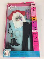 Barbie KEN FASHION AVENUE Live Concert OUTFIT Leather Pants Boots 2002