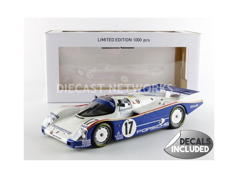 Norev - 1 18 - PORSCHE 962 C-Vincitore C-Vincitore C-Vincitore Le Mans 1987 - 187404 867e2e