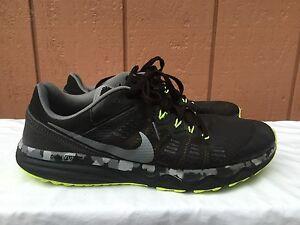 EUC Nike Dual Fusion Trail 2 Men Trail Running Shoes 819146 001 US 11.5 EUR 45.5