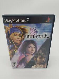 Final Fantasy X-2 (Sony PlayStation 2, 2003) CIB W/Manual Tested Working
