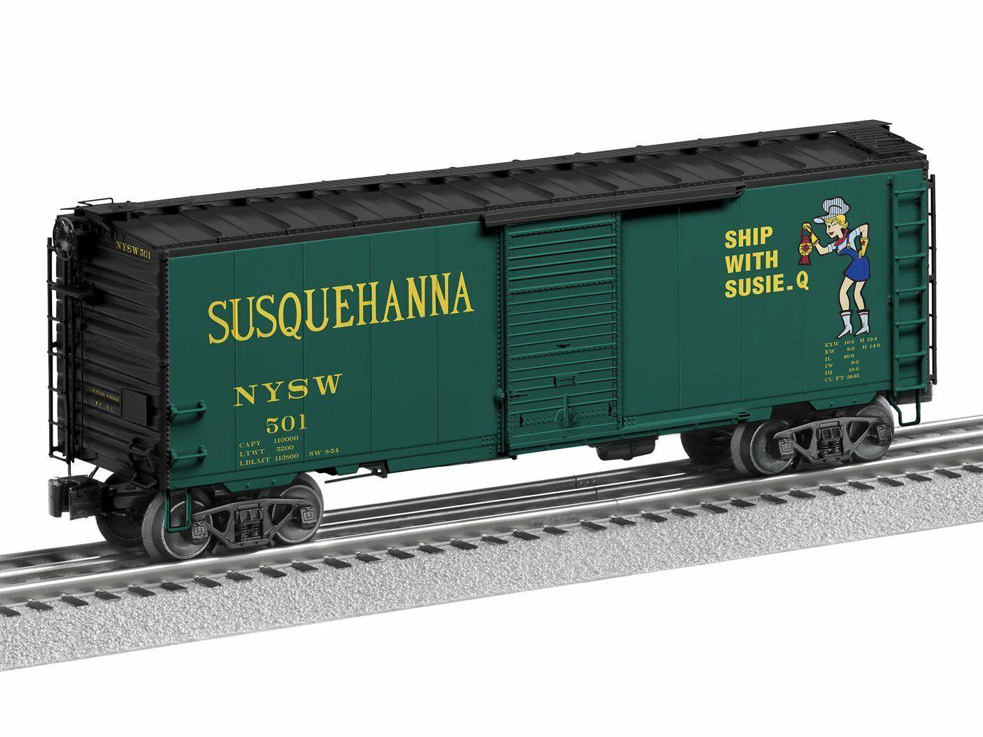 O-Gauge - Lionel - Susquehanna FreightSounds Boxcar  501