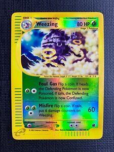 Pokemon Weezing Reverse Foil Expedition Eng #32/165 LP (T)