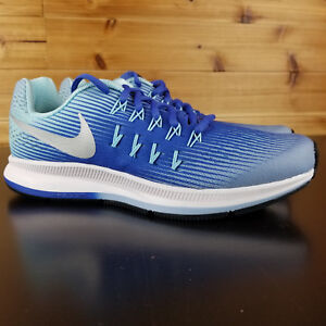 check out 52fc3 e19a2 Details about Nike Zoom Pegasus 33 834317 403 Junior GS Big Kids Blue  Lifestyle Athletic Shoes