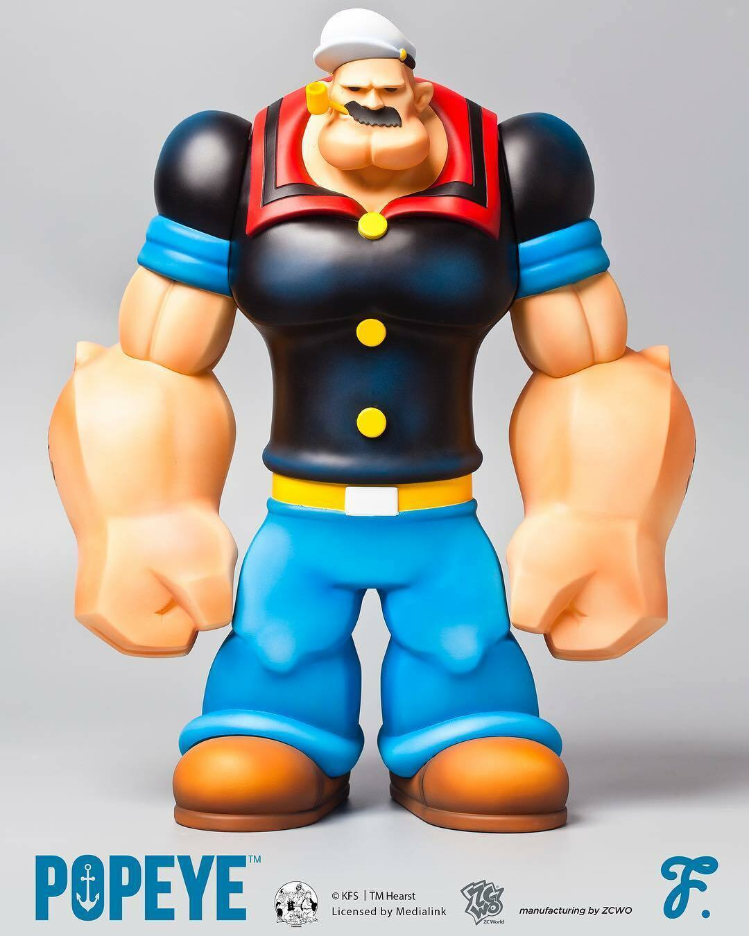 Fools Paradise POPEYE 100% Authentic Licensed by Medialink Vinyl Vinyl Vinyl Figure Toy 1e1