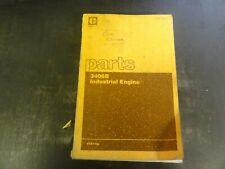 Caterpillar Cat 3406b Industrial Engine Parts Manual Sebp1434 01