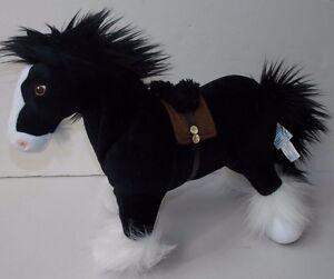 Disney Store Brave Angus Merida S Black Horse Stuffed Animal Plush