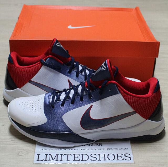 Nike Zoom Kobe 5 USA - 386429-103