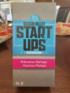 New Silicon Valley Start Ups Hilarious Party Game Pitch Your Ridiculous Company