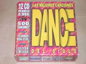 BOITIER-12-CD-EXPORT-MEILLEURES-CHANSONS-DANCE-DU-SIECLE-RARISSIME-TB-ETAT