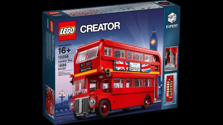 LEGO 10258 London Bus Expert 16+  Pz1686