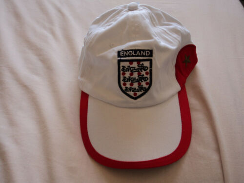 """Adult /""""England/"""" baseball cap in 3 sizes"""