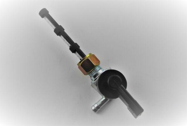 Benzinhahn KYNAST M12x1 Abgang links verstärkt - fuel tap - petcock - petrol tap