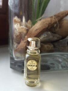Givenchy-III-3-Selten-Parfum-Miniatur-Mini-Flakon-Rar