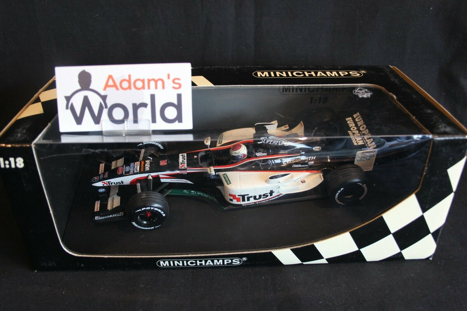 Minichamps Minardi Cosworth PS03 2003 1 18  19 Jos Verstappen (NED) (RG)