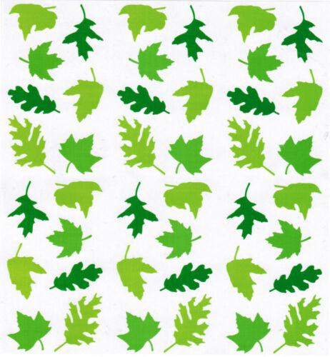 3 Strips Summer Mrs Grossman/'s Green Leaves Spring Scrapbook Stickers