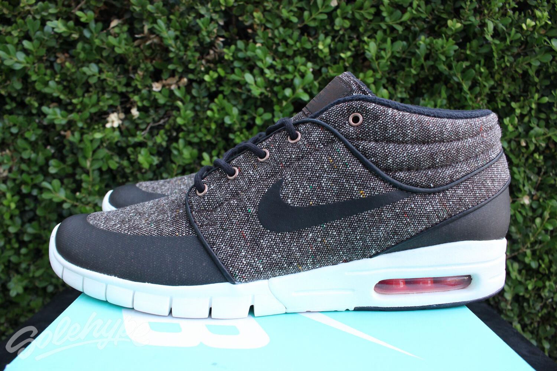 low priced f9d6c a6085 Nike sb stefan janoski max metà sz 8 8 8 barocco brown laser crimson vela  807507