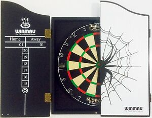 Image Is Loading MICRO BAND BLADE Competition Dart Board Amp WINMAU