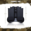 Glock Magazine Holder 9mm Holster The Ultimate Double Stack With Paddle And .40