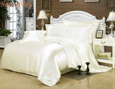 CAMEL SOLID 1000TC SATIN SILK FITTED//SHEET//DUVET SET CHOOSE SIZE /& ITEMS