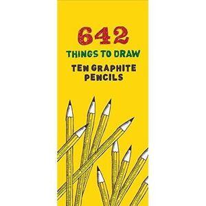 642 Things To Draw Graphite Crayons Par Chronicle Books, New Book, Gratuit Et Rapide De-afficher Le Titre D'origine Haut Niveau De Qualité Et D'HygièNe