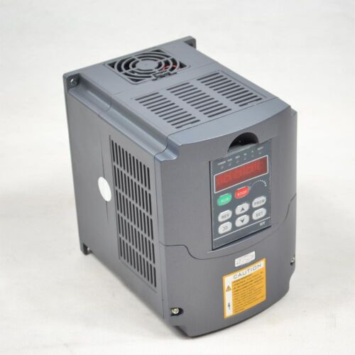 2.2KW WATER COOLED SPINDLE MOTOR ER20 MATCHING 2.2KW VFD INVERTER DRIVE CNC