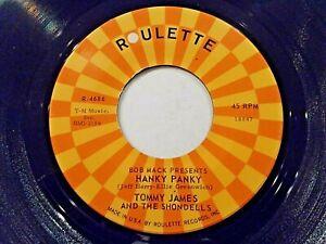 Tommy-James-amp-The-Shondells-Hanky-Panky-Thunderbolt-45-1966-Vinyl-Record