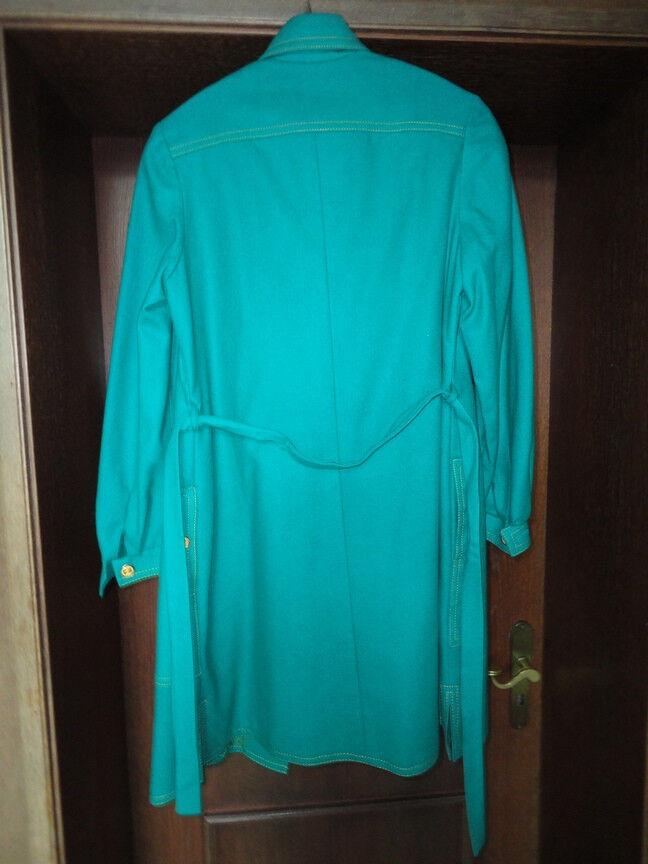 Damenkleid  Mantel Unikat Peggy Lane Hollywood Hollywood Hollywood Orginal in kräftigem Grün ae1f23