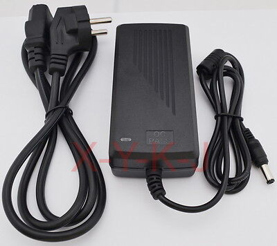 AC/DC Power supply Adapter 12V 5A 60W for 5050/3528 LED Light CCTV US EU UK AU